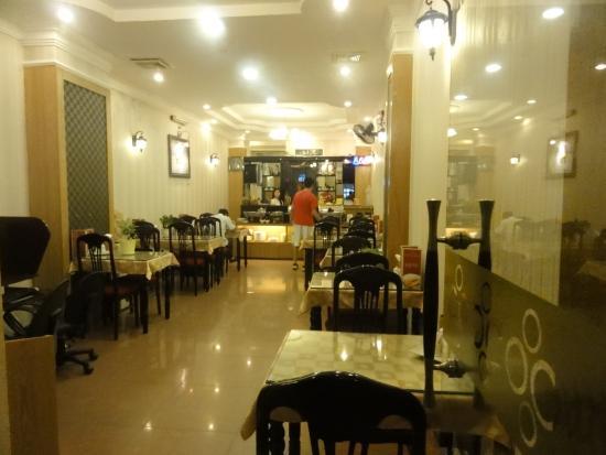 โรงแรมฮวงเลี่ยน: 2階朝食会場