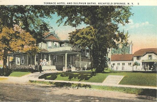 Richfield Springs, NY: Hotel and Bath House from the 1800's