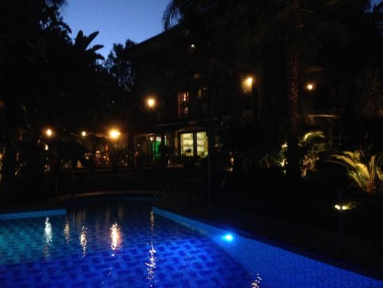 Borgo Verde Hotel : Giardino d'ingresso.