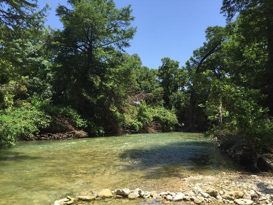 James Kiehl River Bend Park: Beautiful River
