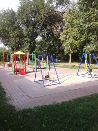 Zhambyl Zhabayev Park: Детская площадка