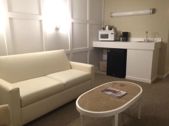 Brighton Suites Hotel : Living Room