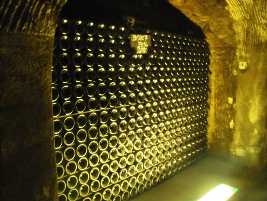Moet Et Chandon Champagne Cellars: Champagne Storage