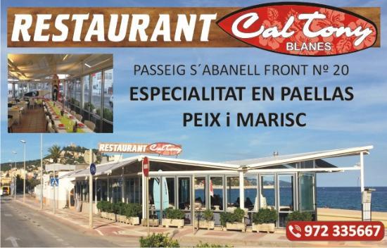 Restaurante Cal Tony Blanes