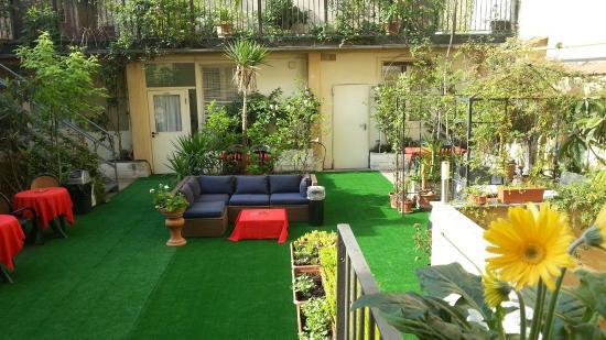 Hotel Perugino : garden