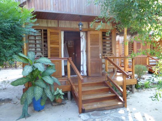 Chez Maggie Hotel : our nicely crafted bungalow