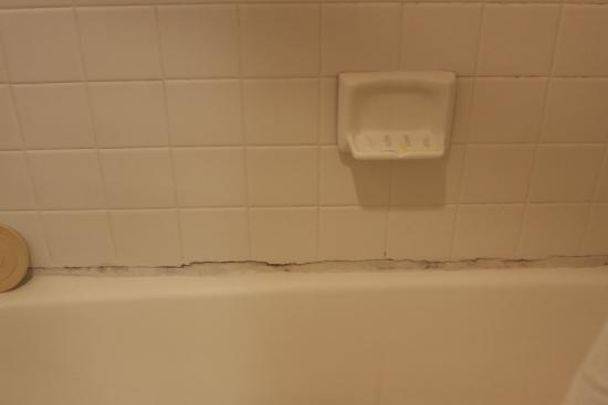 Pacific Inn Santa Cruz : terrible caulk job