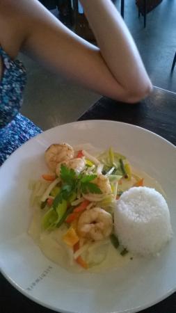 Restaurant sichtwerk: wok aux crevettes