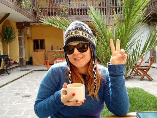 Hostal Quipu Cusco : Chá de coca
