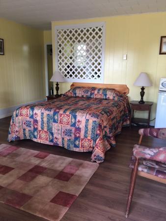 Charming motel room 130 at the Lakelawn B&B Motel