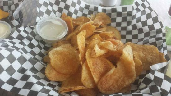 Ocean House Waterfront Seafood Restaurant: chips