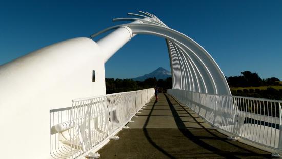16 Northgate Motor Lodge: Blick auf den Mount Taranaki !!!!