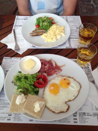 Pension Corto: desayuno