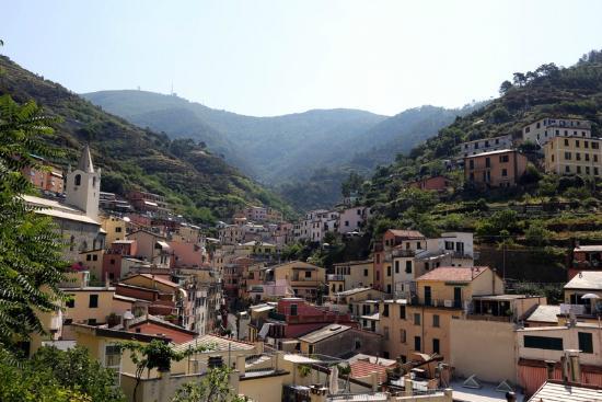 Riomaggiore, Italia: Вид на Рио Маджоре