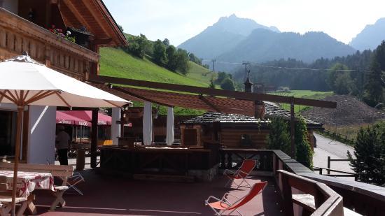 Albergo La Bronta: Restaurantterrasse
