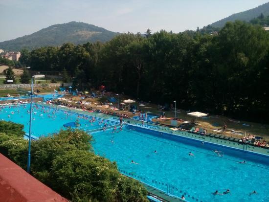 Kremnica, Σλοβακία: pohľad z terasy
