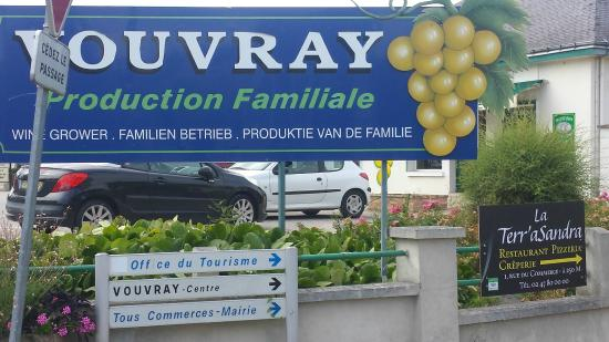 Vouvray, Frankrike: En bonne compagnie...