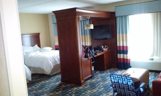 Hampton Inn & Suites Huntersville: The room