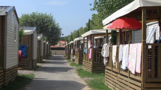 Saint-Aygulf, Francia: vue des mobilhomes