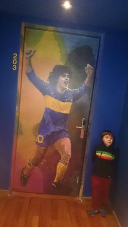 Hotel Boca by Design Suites: El más grande! Maradona también era bueno .