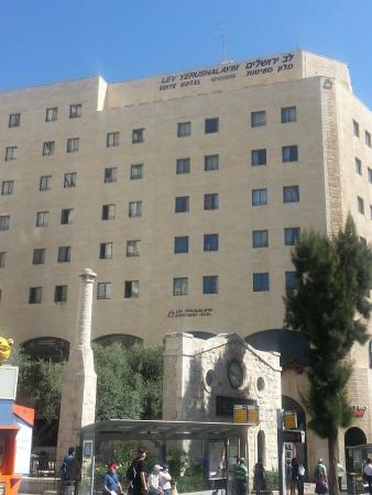 Lev Yerushalayim: вид на отель