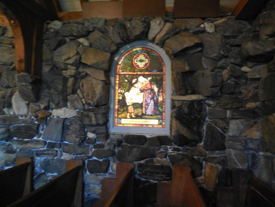 Kennebunkport, ME: stain glass