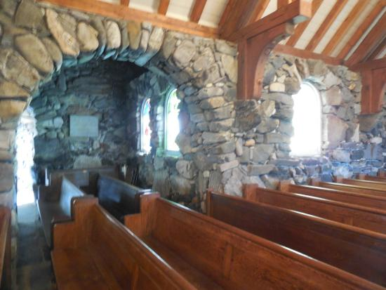 Kennebunkport, ME: inside the church