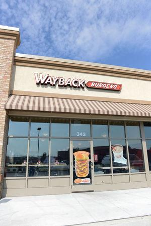 Millersville, PA: Wayback burgers store front