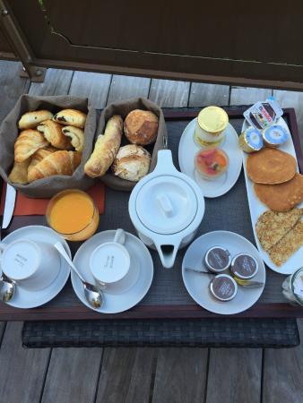 Hotel Cote Sable : Petit déjeuner pour une personne