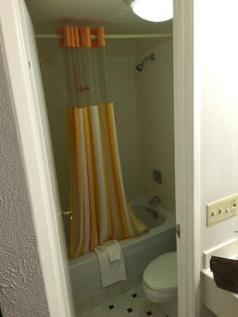 La Quinta Inn Indianapolis Airport Lynhurst: Bathroom