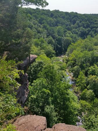 Pipersville, PA: High Rocks Vista