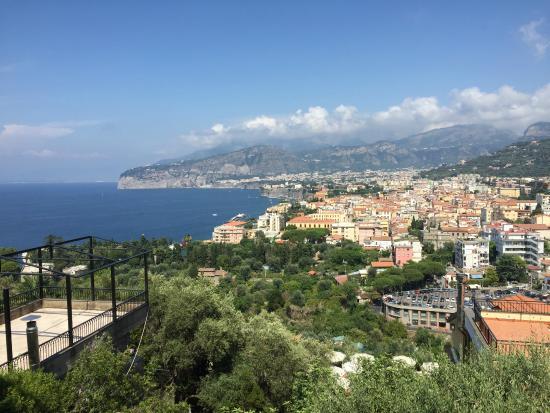 Grand Hotel Capodimonte: Incredible view of Sorrento
