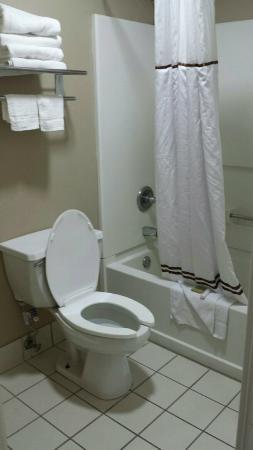 Super 8 Murfreesboro : Bathroom