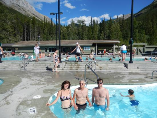 Miette Hot Springs: One of the cold pools