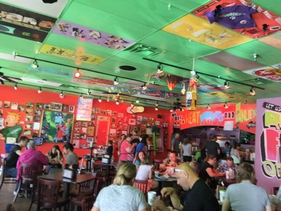 Tijuana Flats: Inside
