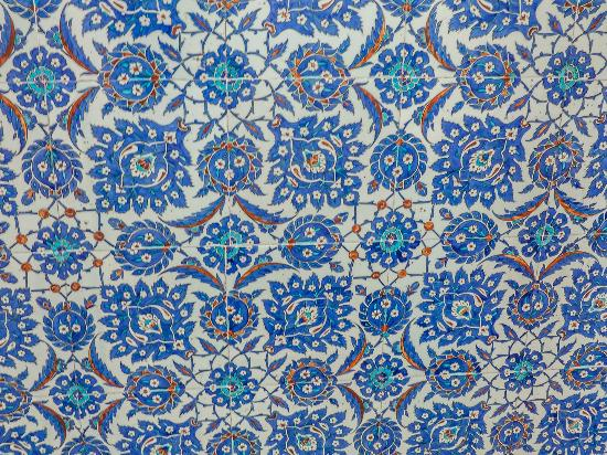 Pano de r stem pa a picture of rustem pasha mosque for Azulejos de iznik