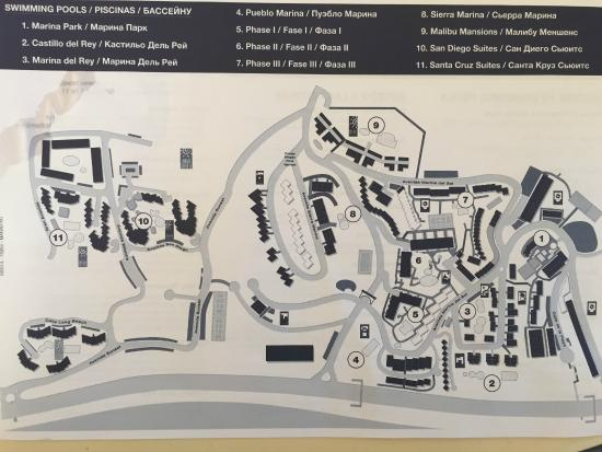 Map of the CLC Village Picture of CLC Club La Costa World Mijas