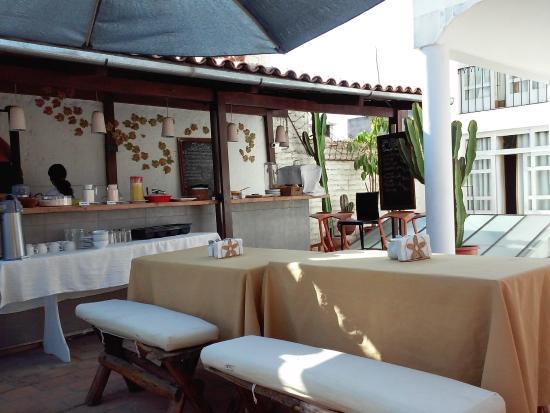 Solar Terrasse foto de hostal solar arequipa terrasse du petit déjeuner tripadvisor
