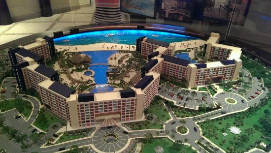 Model Of Hotel Grounds Picture Of The Westin Lagunamar