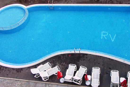 Rose Village Apartments: The larger pool with the section for youngsters.