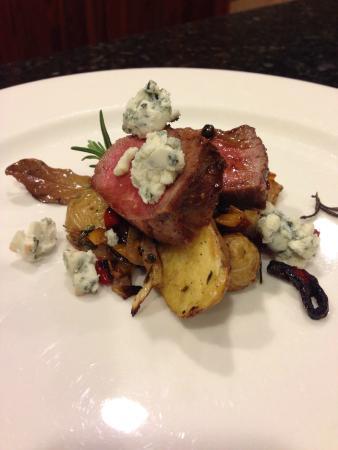 Fat Duck Inn: One of Chef Kobys' tasty creations!