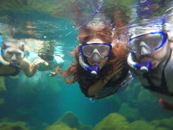 Puerto Ayora, Ecuador: bajo el agua