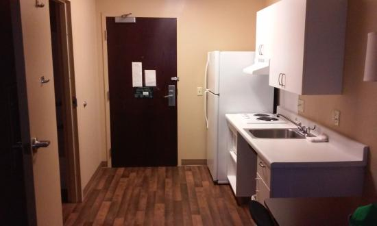 Extended Stay America - Seattle - Northgate: The kitchen area.