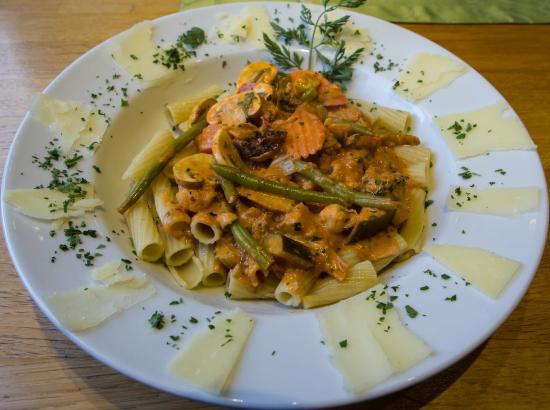 Hotel Burgwald: Abendessen