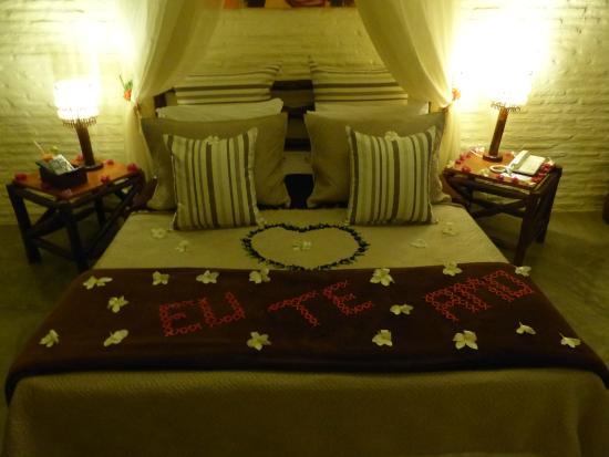 Chambre Avec Decoration Romantique Picture Of Rede Beach