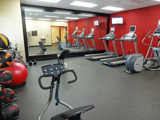 Fitness Center Picture of Hilton Garden Inn Wisconsin Dells