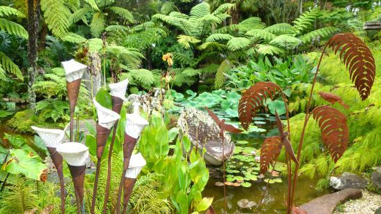 วานกาไร, นิวซีแลนด์: Der tolle Garten