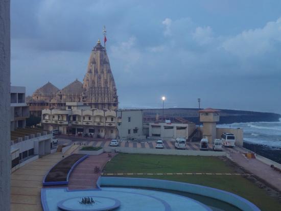 Sagar Darshan Somnath Trust Temple Adjacent To The Hotel