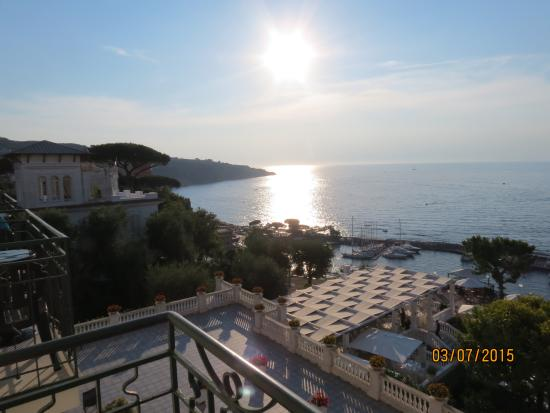Europa Palace Grand Hotel: View from our balcony