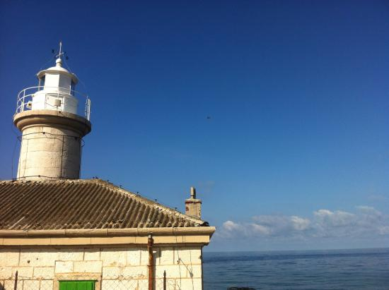 Lighthouse in Unije AUGUST 2014